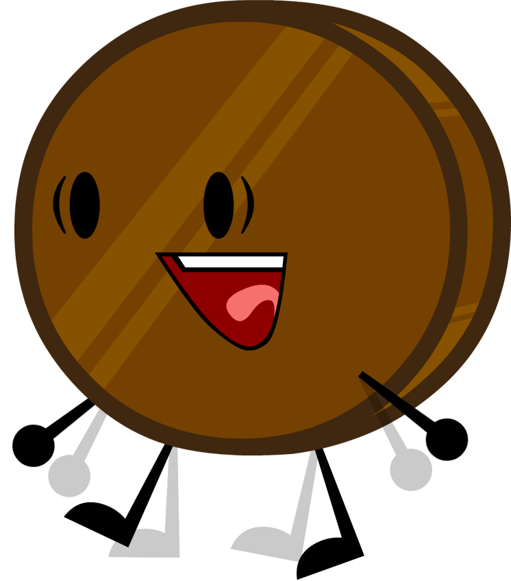 Chocolate clipart brown object. Image coin pose png