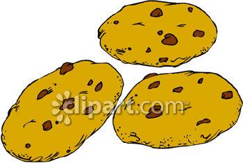 Fudge cookies . Chocolate clipart bunch