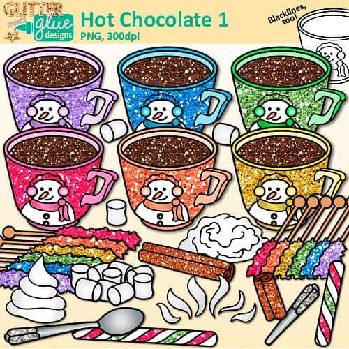Hot teacher clip art. Chocolate clipart bunch