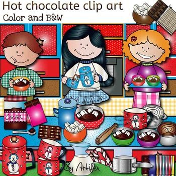 best hot and. Chocolate clipart bunch