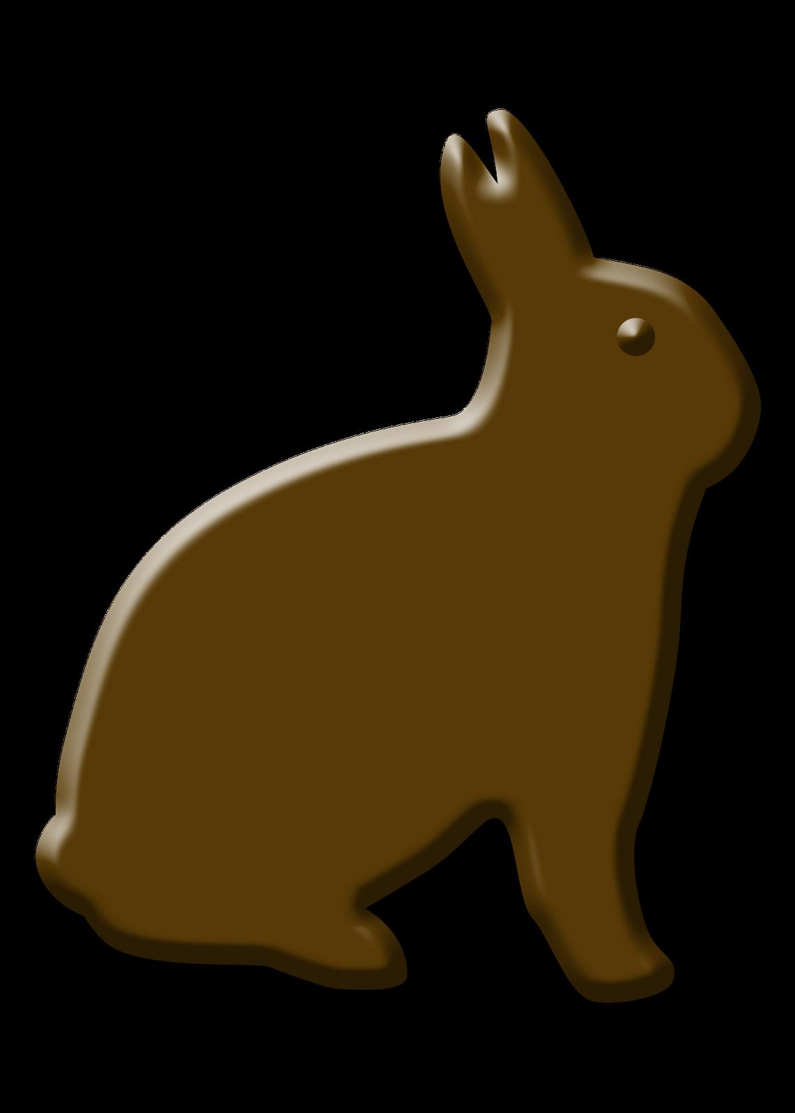 Chocolate Rabbit Clipart