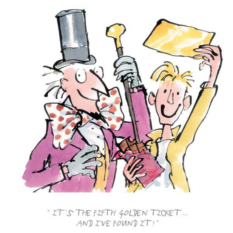 Roald dahl prints. Chocolate clipart charlie and the chocolate factory