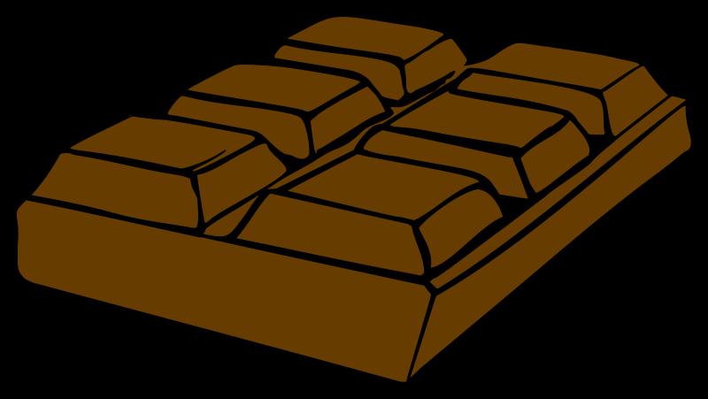 Chocolate clip art free. Cube clipart cartoon