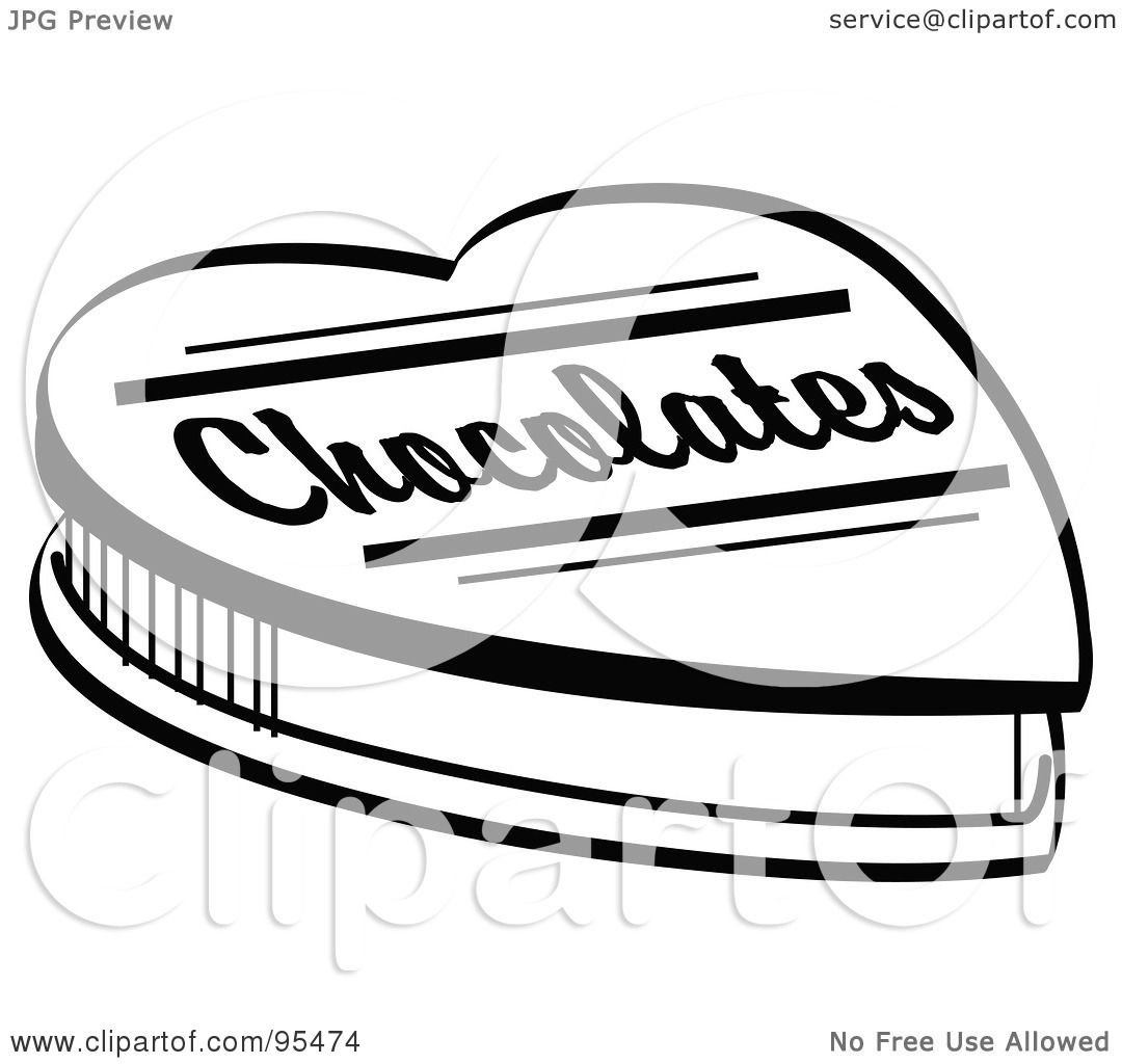 Chocolate clipart chocloate. Box of chocolates free