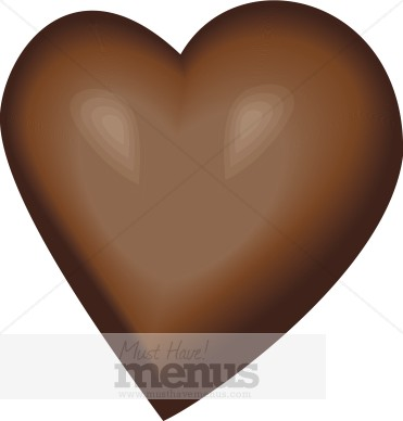 Chocolate clipart chocloate. Heart clip art images