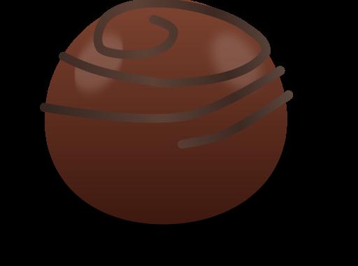 File svg wikimedia commons. Chocolate clipart chocolate truffle