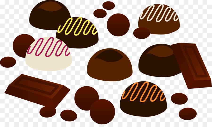 Chocolate clipart chocolate truffle. Valentine s day greeting
