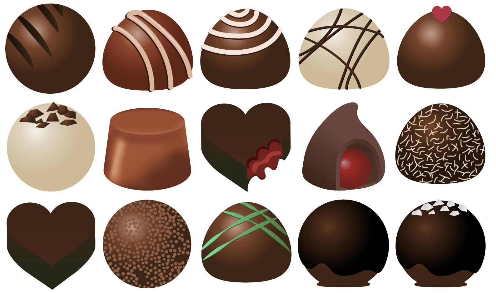 Truffles candy clip art. Chocolate clipart chocolate truffle