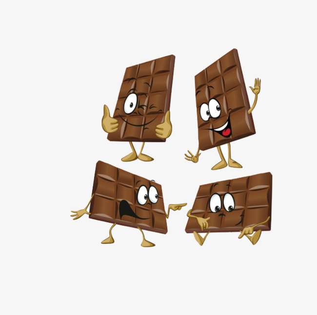 Lovely hands and feet. Chocolate clipart cute