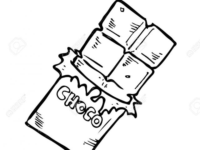 Free download clip art. Chocolate clipart drawing