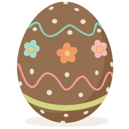 Egg svg scrapbook cut. Chocolate clipart easter