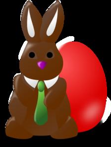 Chocolate clipart easter. Bunny egg clip art