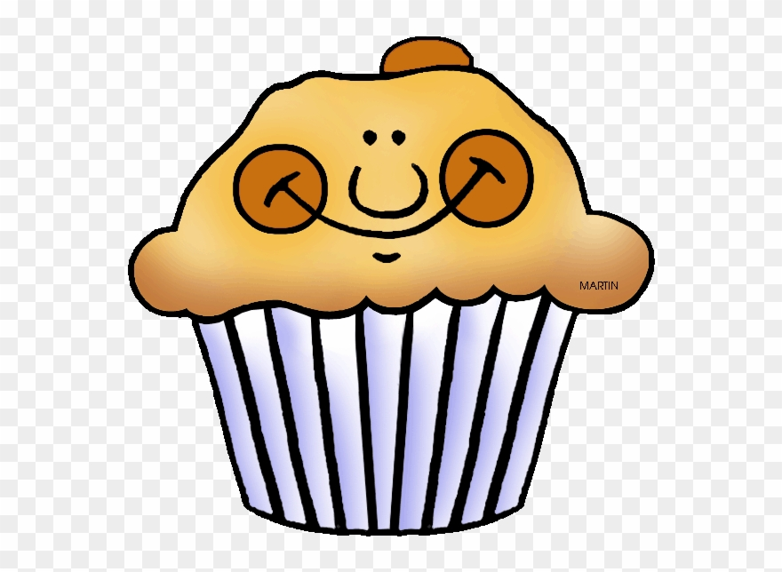 Muffins clipart yellow cupcake. Muffin face chocolate clip