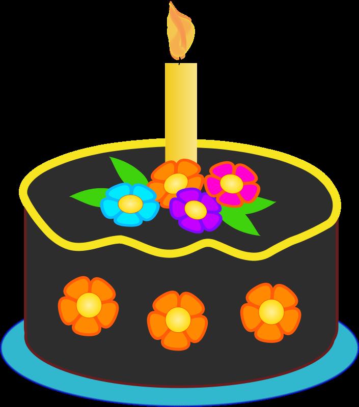 clipart balloon cake #62112640