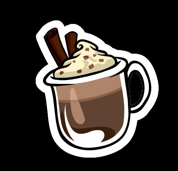 Winter clipart mug. Hot chocolate free download