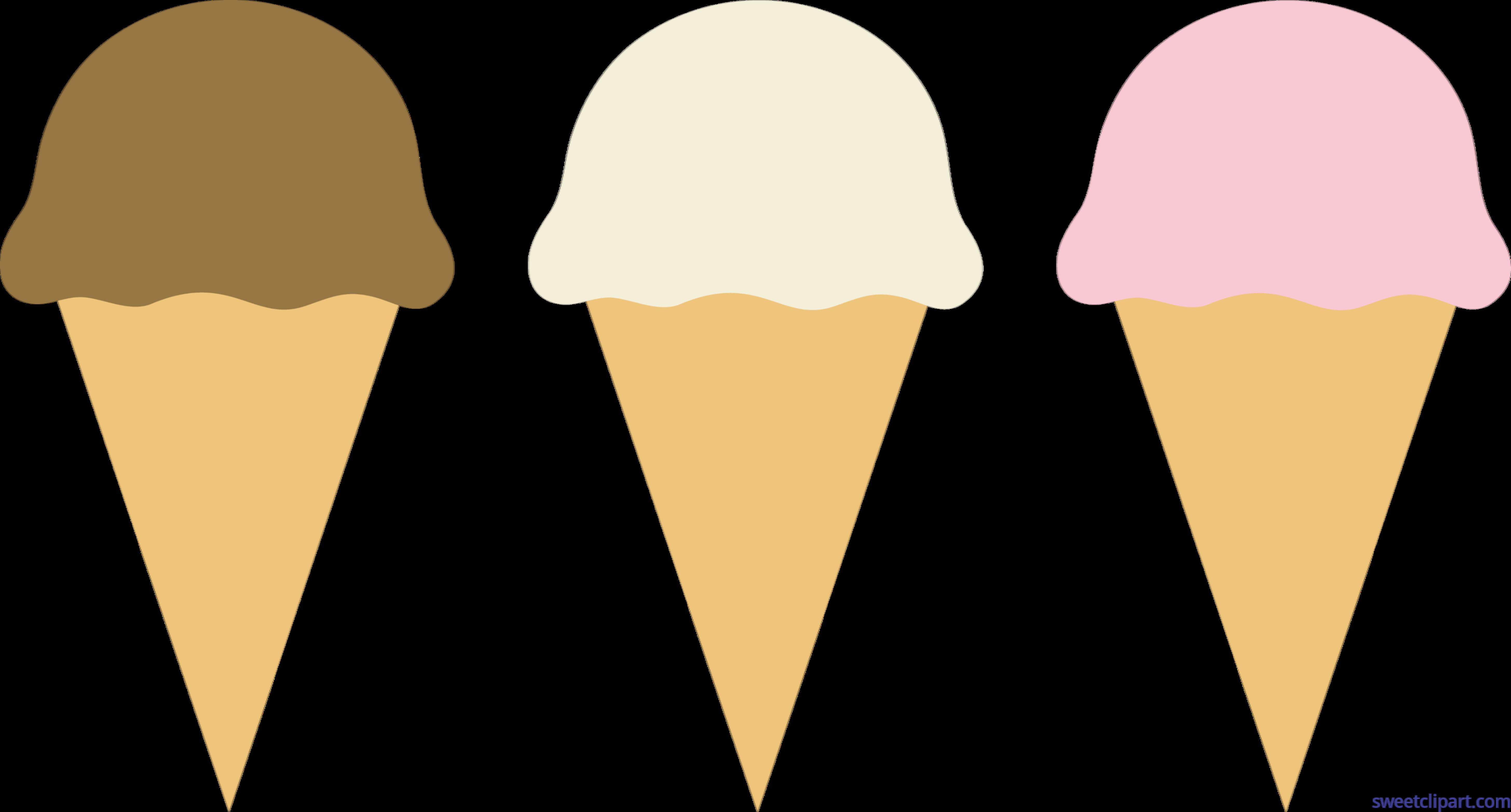 Icecream clipart candy. Ice cream cones chocolate