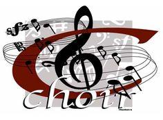 Choir clipart. Church singing clip art