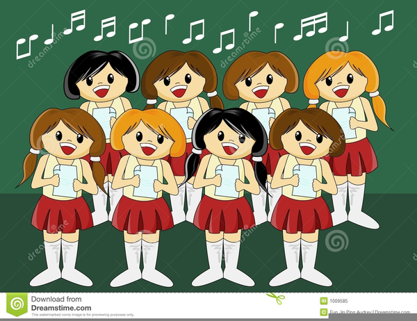 Christmas free images at. Choir clipart animated