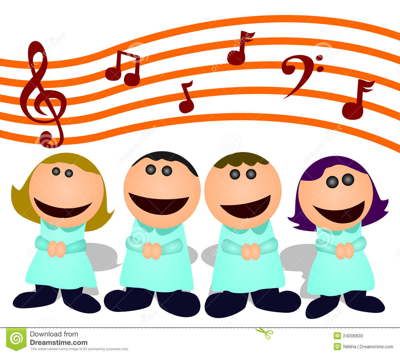 Choral free download best. Choir clipart animated