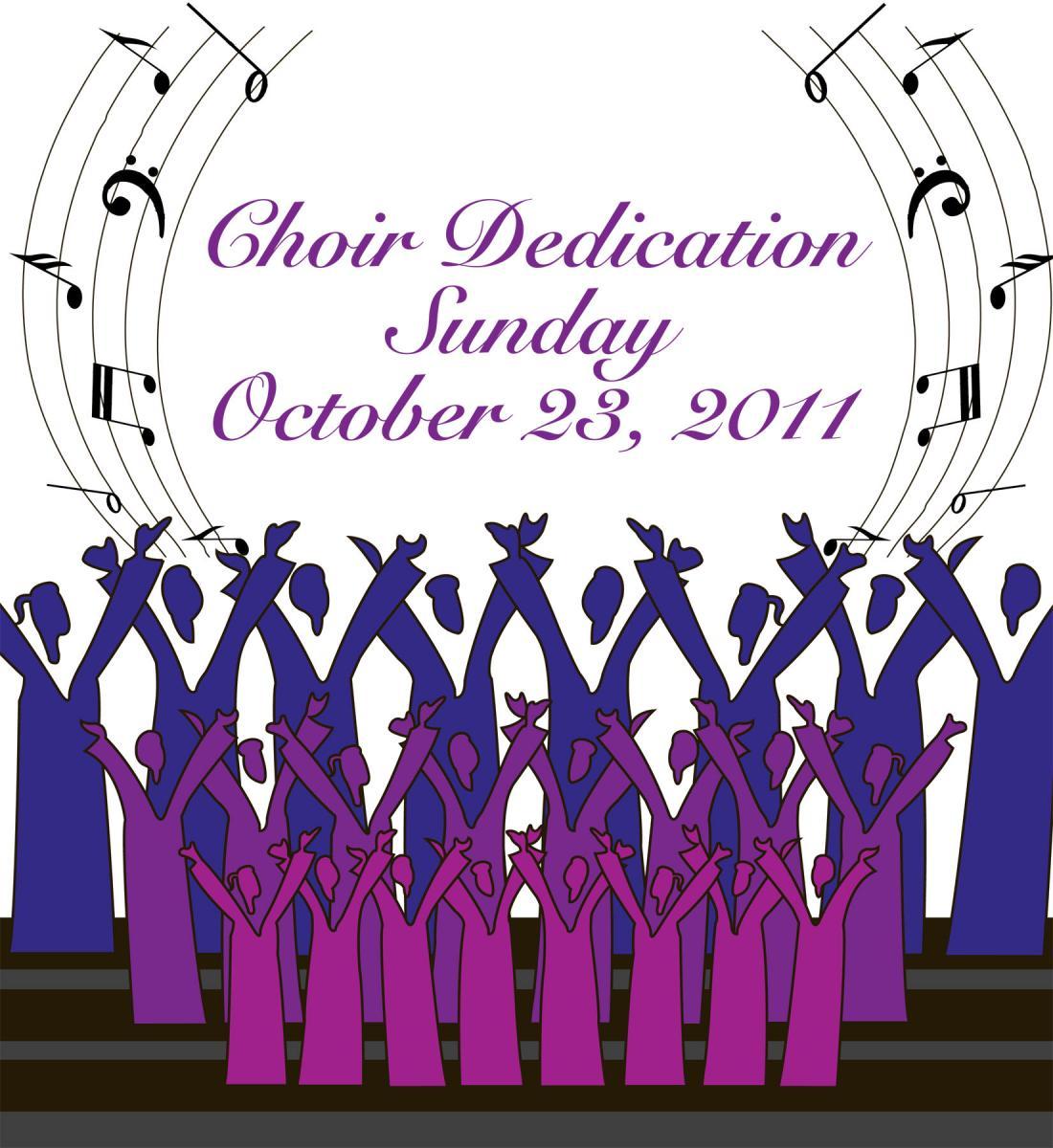 choir clipart anniversary