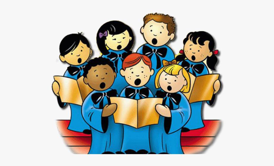 Choir clipart cartoon. Singing church children s