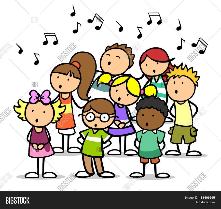 Choir clipart cartoon. Download singing clip art
