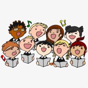 Free singing cliparts silhouettes. Choir clipart chamber choir