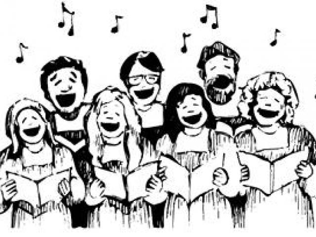 Pictures of a free. Choir clipart chamber choir