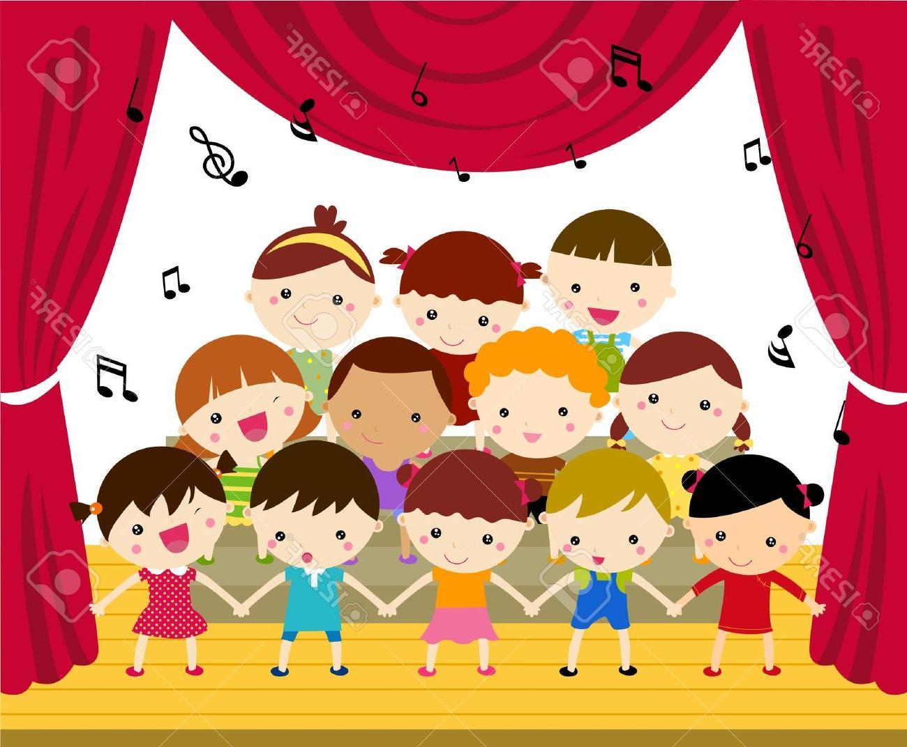 Choir clipart child choir. Unique concert band and