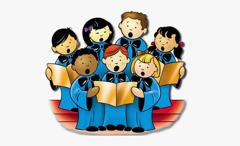Choir clipart child choir. Children free cliparts on