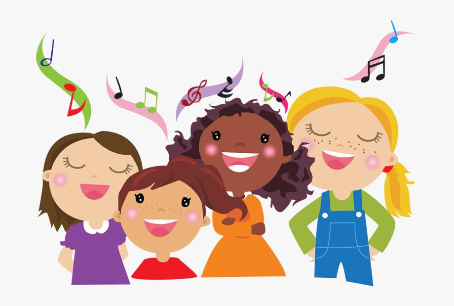 Choir clipart children's. Children s kids singing