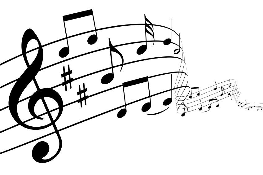 Piano clipart choir note. Black and white google
