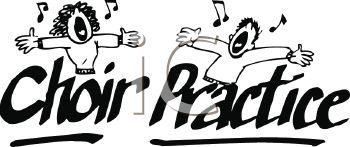 . Choir clipart choir practice