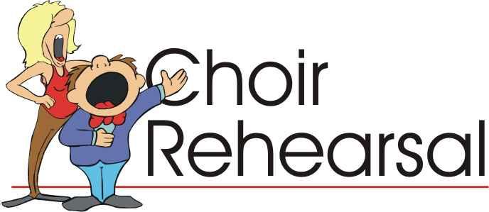 Choir clipart choir rehearsal. New britain baptist church