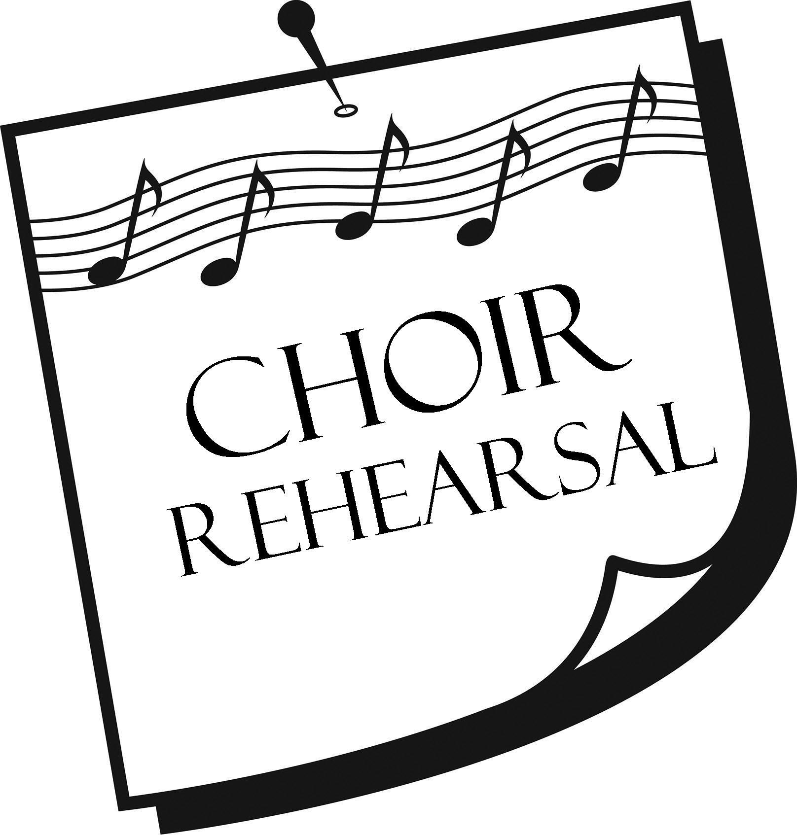 Choir clipart choir rehearsal. Hs pm holy spirit