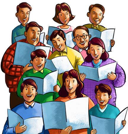 Free singers cliparts download. Choir clipart choir singer