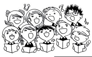 Choir clipart choir singer. Free singers images at