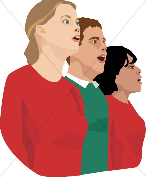 Chorus clipart youth choir.  collection of choral