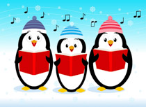 Search results for clip. Choir clipart christmas
