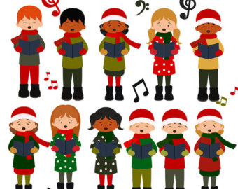 Free singers cliparts download. Choir clipart christmas
