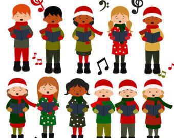best scrapbook images. Choir clipart christmas