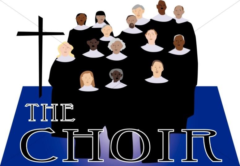 The word art. Choir clipart church choir