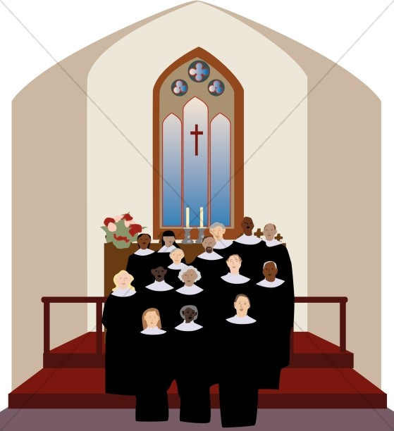 Choir clipart church choir.