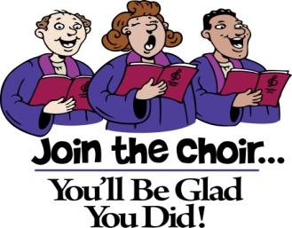 Choir clipart church choir. Join the