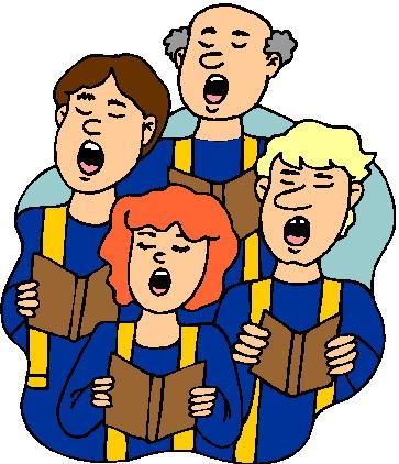 . Choir clipart church choir