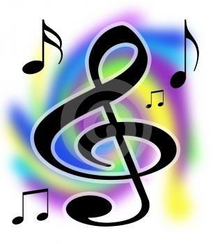 Music notes clip art. Choir clipart church choir