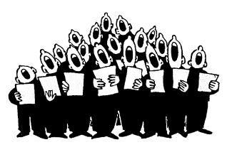 Choir clipart club. Regular events rawdon and