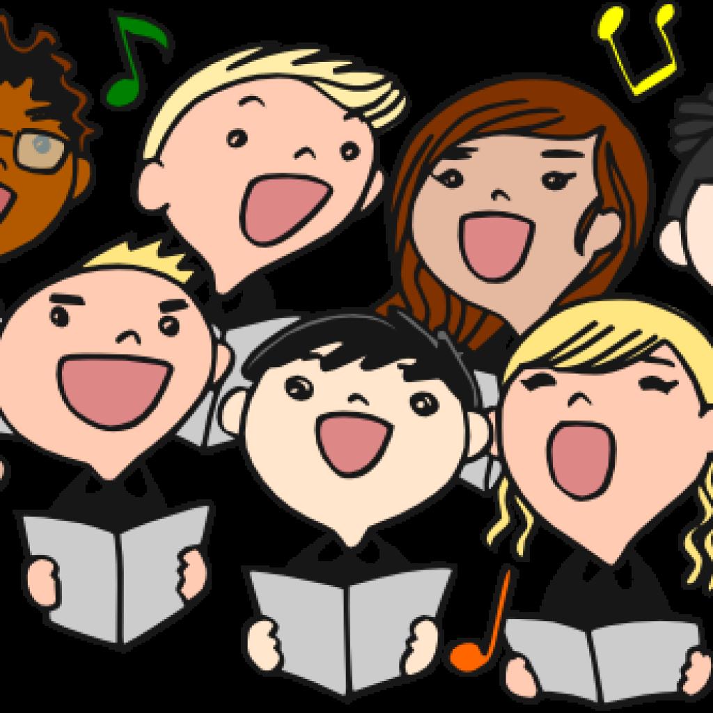 Singing brain hatenylo . Choir clipart club