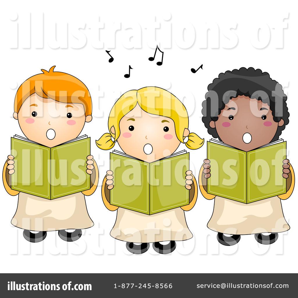 Chorus clipart cute. Choir illustration by bnp