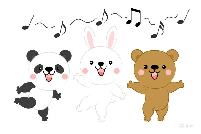 Chorus clipart cute. Free animals clip art